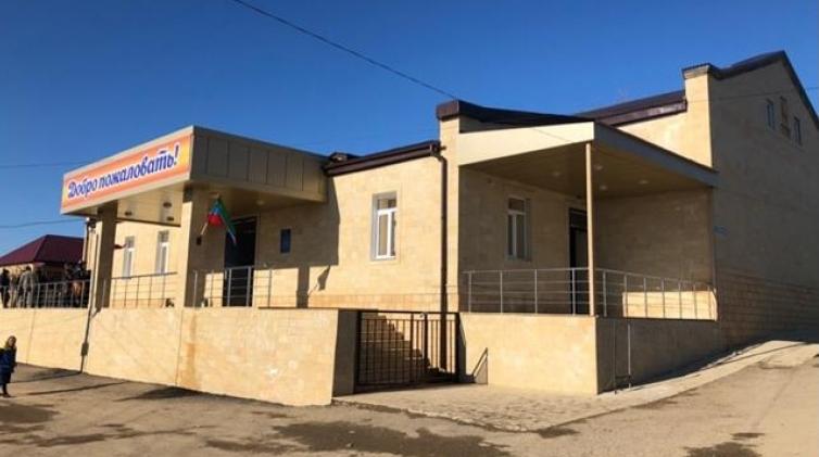 В Дербентском районе открылся новый клуб культуры