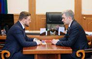 Владимир Иванов провел рабочую встречу с Салманом Дадаевым