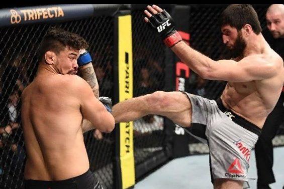 Наши в UFC: победа, рекорд и дисквалификация