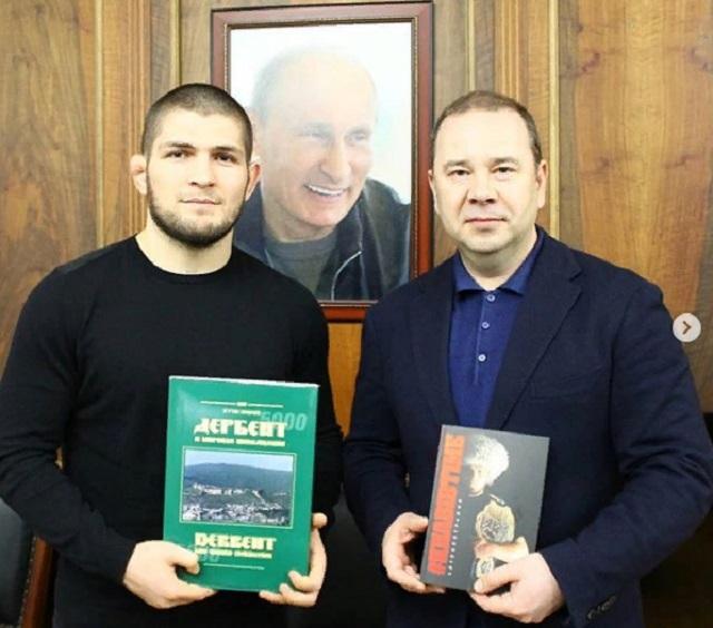 Прокурор республики встретился с Хабибом Нурмагомедовым