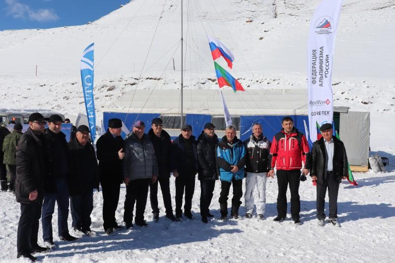 В Докузпаринском районе стартовал чемпионат России по альпинизму в техническом классе
