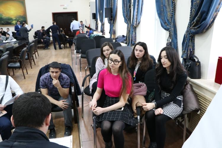 В ДГУпрошелфорумстуденческой молодежи Табасаранского района