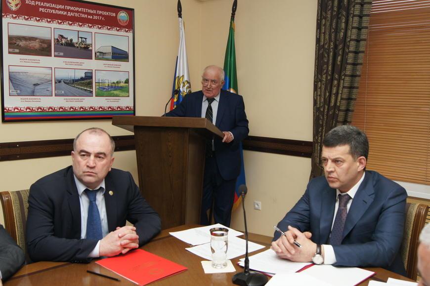 В Буйнакском районе обсудили послание главы Дагестана