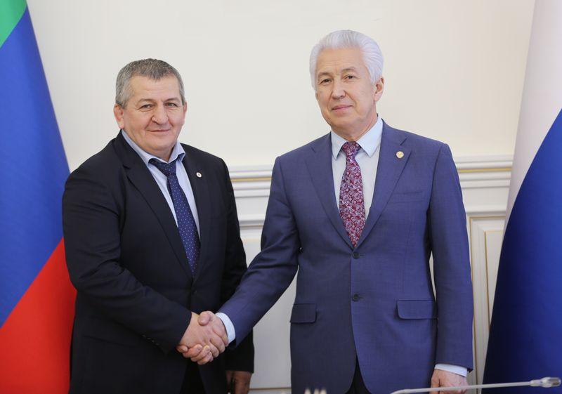 Владимир Васильев вручил удостоверения общественным помощникам