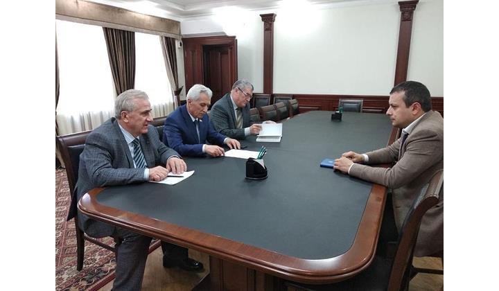 Дагестанские Огни посетил полпред главы Дагестана в ЮТО