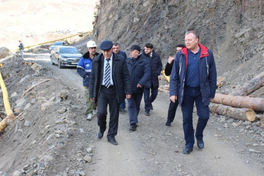 Владимир Лемешко и Валерий Кантеев посетили Цумадинский район