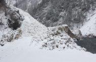 В Тляратинском районе сошла лавина
