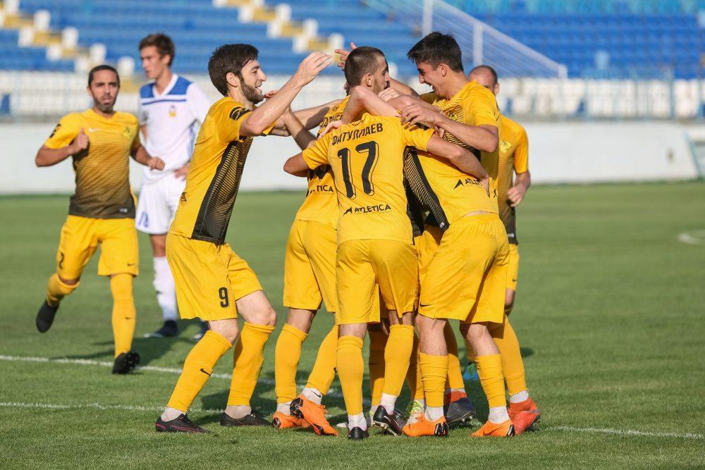 Махачкалинский «Легион-Динамо» завершил сезон на седьмом месте в зоне «Юг» ПФЛ