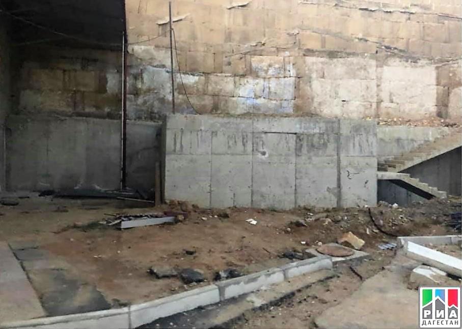 Минкультуры РФ проверит информацию о повреждении крепостной стены в Дербенте