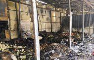 Руководство рынка № 2 в Махачкале восстановит уничтоженные пожаром павильоны
