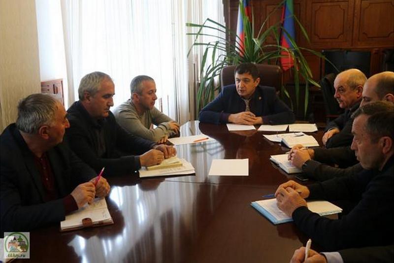 В Ахтынском районе обсудили послание Народному собранию Дагестана