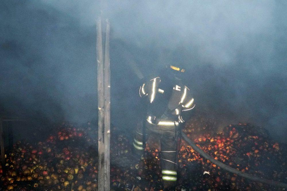 Директор рынка № 2 рассказал о масштабах нанесенного пожаром ущерба