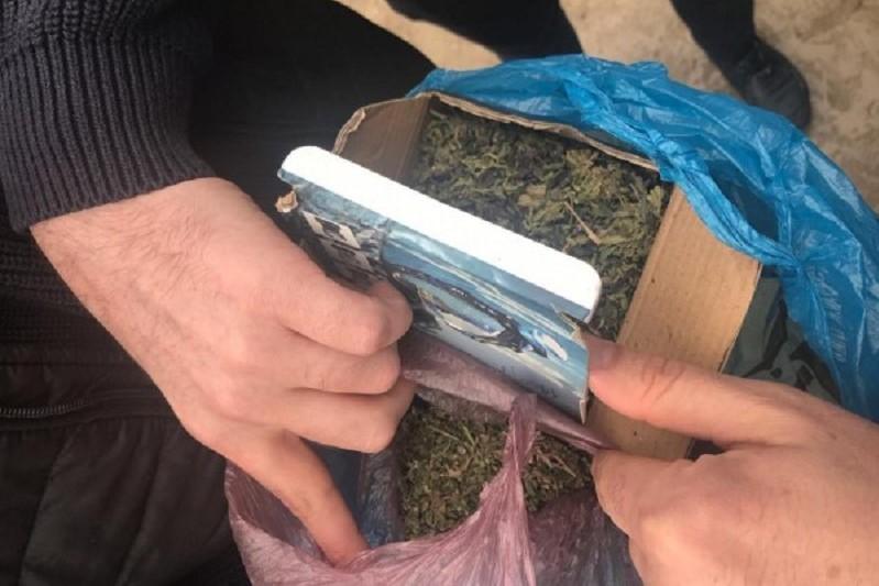 Крупная партия марихуаны обнаружена в Карабудахкентском районе