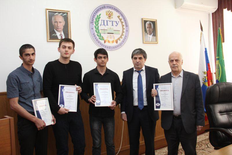 Студенты ДГТУ - призеры олимпиад и специальных Олимпийских игр
