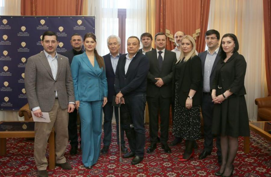 Владимир Васильев встретился с представителями бизнес-сообщества Дагестана