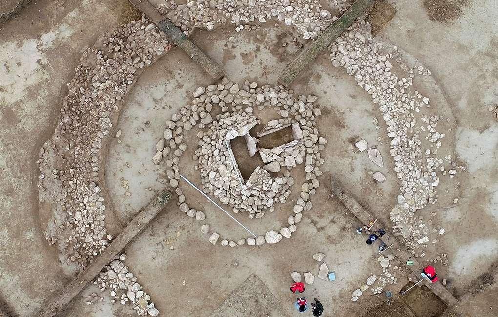 Захоронение Бронзового века обнаружено в районе села Учкент