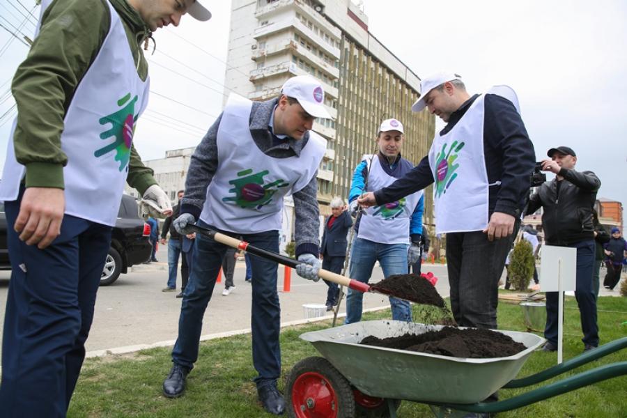 Артем Здунов поддержал экологический марафон