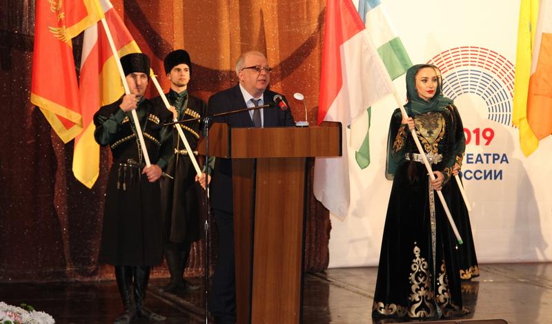 В Дагестане начался Международный фестиваль национальных театров прикаспийских государств