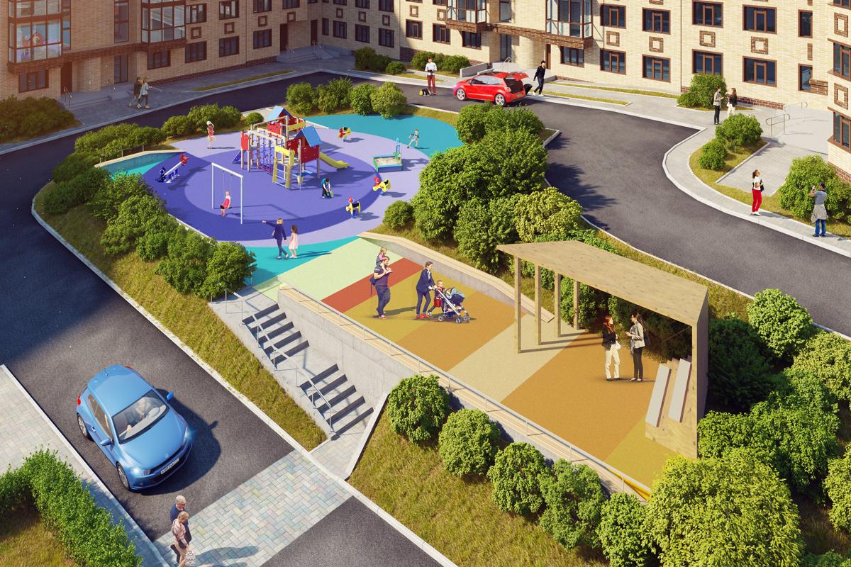 В Дагестане до 2022 года будет благоустроено около 1400 дворовых и общественных территорий