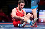 Врач снял Ахмеда Гаджимагомедова со схватки за золото чемпионата Европы