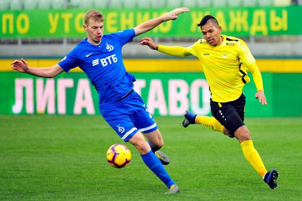«Анжи» сыграл вничью с московским «Динамо»