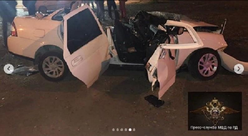 В двух ДТП в Дагестане погибли два человека