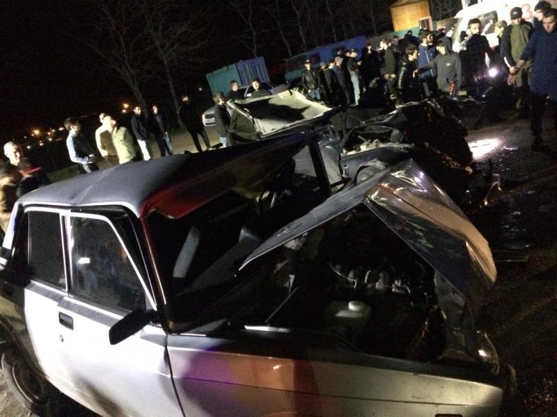 Три человека погибли в ДТП в Новолакском районе