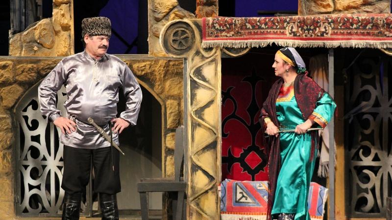 В Хунзахском районе прошли Дни Аварского театра