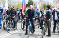 В велопробеге в Каспийске приняло участие более 200 велосипедистов