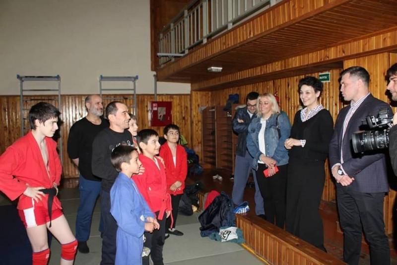 Члены Общественной палаты России посетили спортшколы Махачкалы