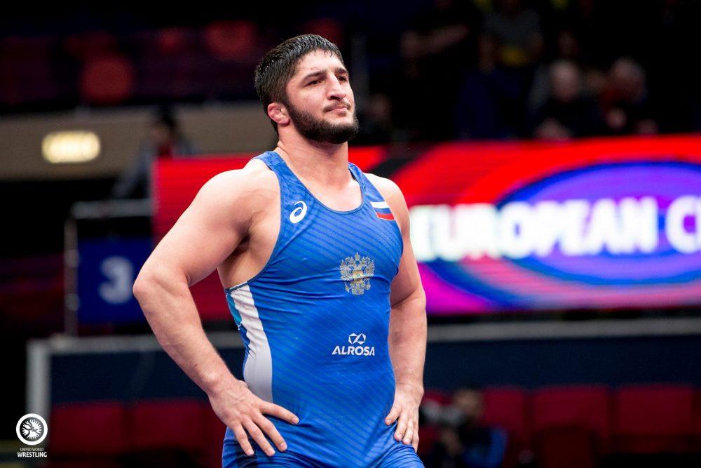 Абдулрашид Садулаев в третий раз выиграл чемпионат Европы