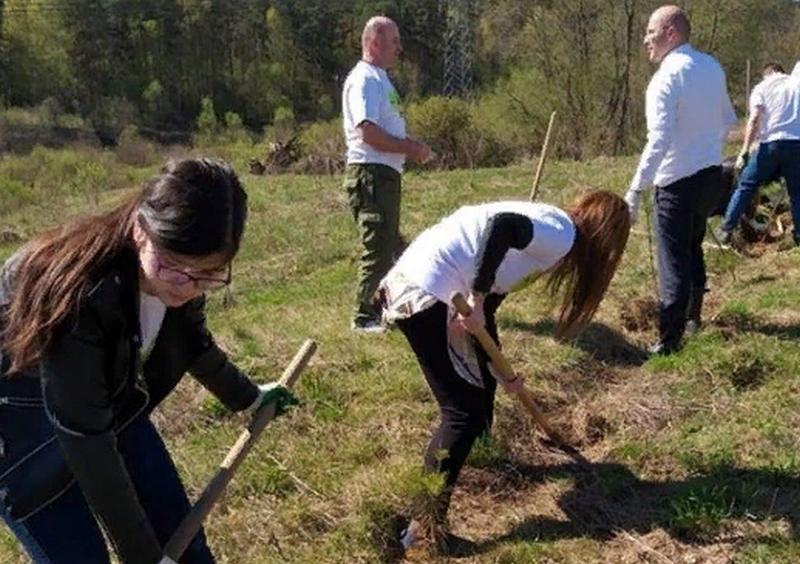 В Подмосковье приняли эстафету акции «Зеленые километры»