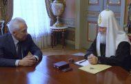Глава Дагестана встретился с патриархом Московским и всея Руси Кириллом