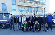 Участники автопробега «Из Москвы в Доху» посетили исторический парк в Махачкале
