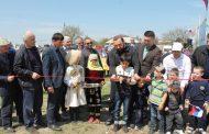 В Хасавюртовском районе открылась новая воркаут-площадка