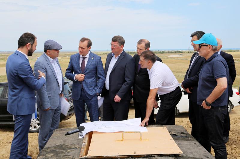Артем Здунов посетил технопарк «Аврора» и инвестплощадку «Уйташ»