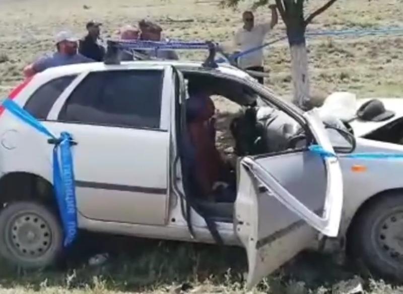 Три человека погибли в ДТП на трассе Махачкала - Верхний Гуниб (ВИДЕО)