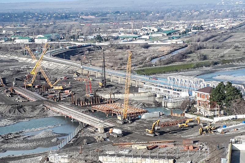 Строительство Самурского моста и ремонт участка трассы «Кавказ» в Дагестане планируется завершить осенью 2019 года