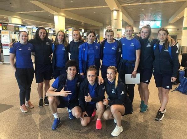 Байзат Хамидова сыграла на этапе Мировой серии по регби-7