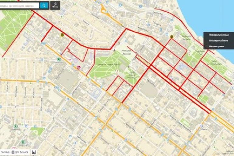 В День Победы на нескольких улицах Махачкалы будет перекрыто движение