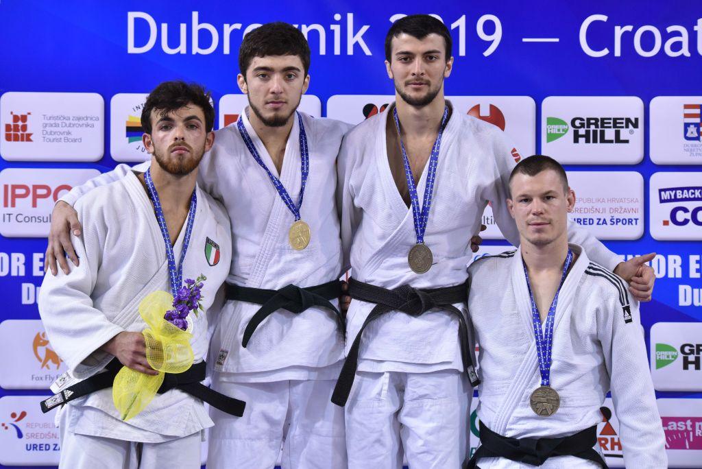 Золото из Хорватии. В Махачкале встретили победителя Кубка Европы по дзюдо