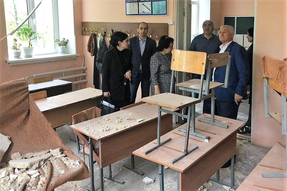 В Буйнакске состоялось заседание комиссии по чрезвычайным ситуациям (ФОТО)