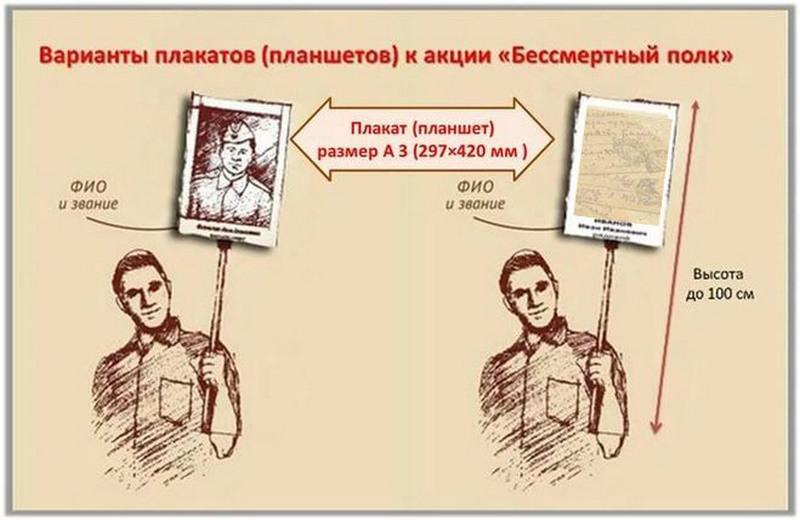 Дагестан примет участие в ежегодной акции «Бессмертный полк»