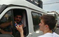 На улицах Махачкалы боксеры помогли постящимся совершить ифтар