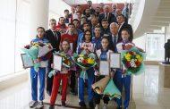 Владимир Васильев поздравил дагестанских тхэквондистов - победителей первенства России