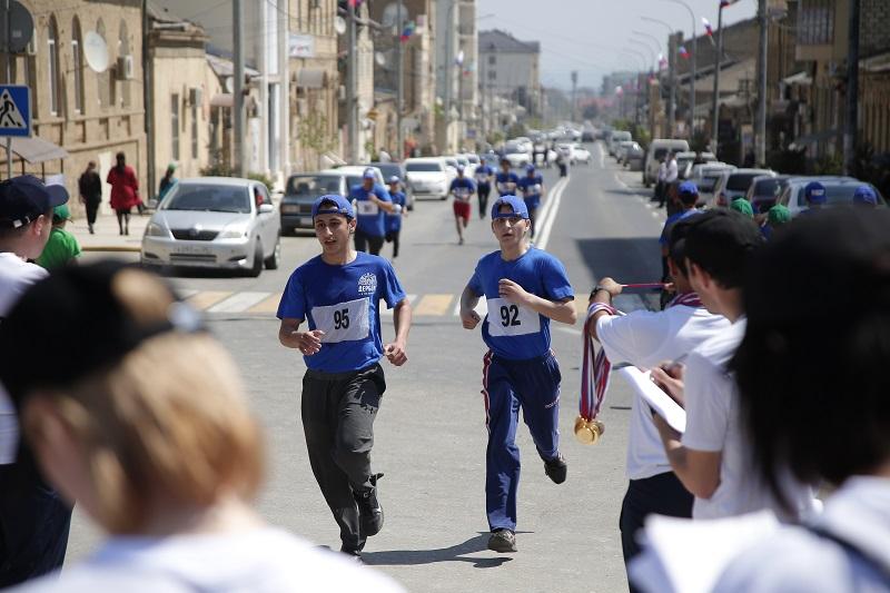 В Дербенте прошел марафон «Нарын-Кала»