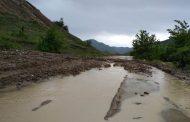 В Сергокалинском районе восстановлено движение по дороге, размытой селем