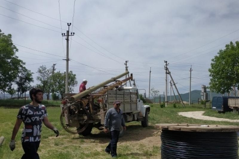 В Сергокалинском районе восстановлено электроснабжение после сильного ветра