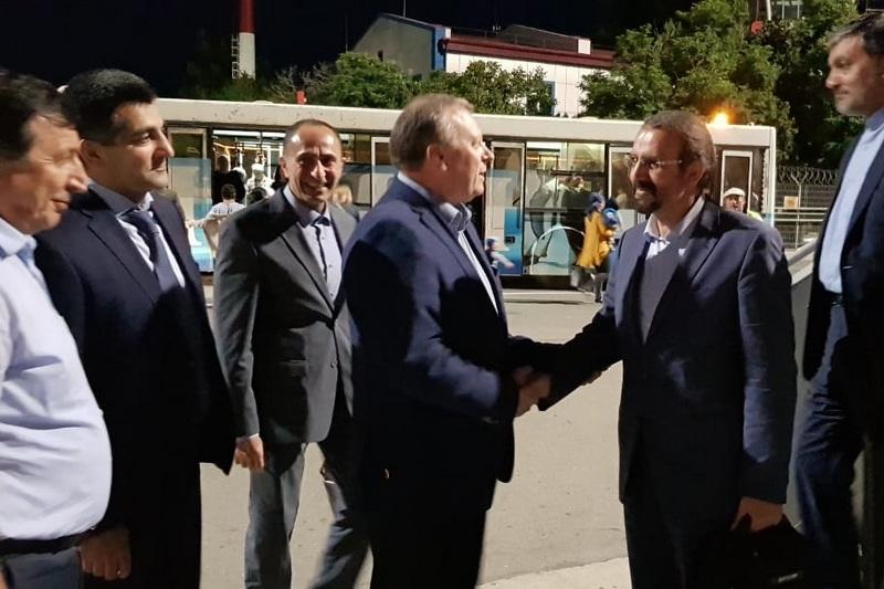 В Дагестан прибыл посол Ирана в России Мехди Санаи