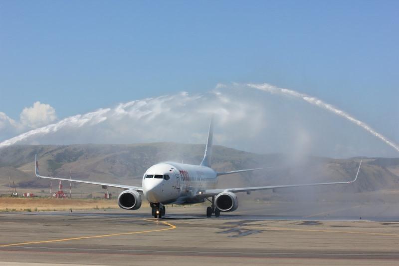 Nordwind с первого июля открывает авиарейсы между Махачкалой и Санкт-Петербургом